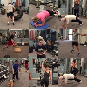 Saturday HIIT Conditioning class.  Great for all ages and all fitness levels!